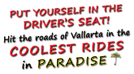 put your self in the coolest rides in paradise